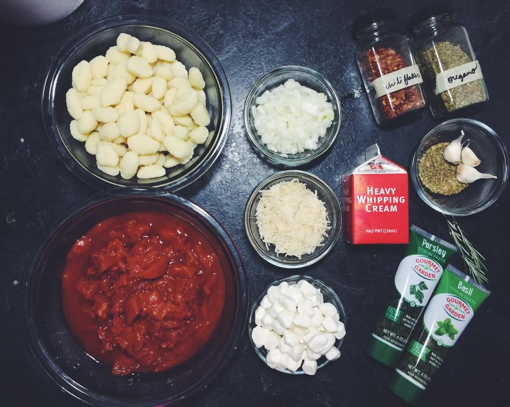 gnocchi pomodoro ingredients