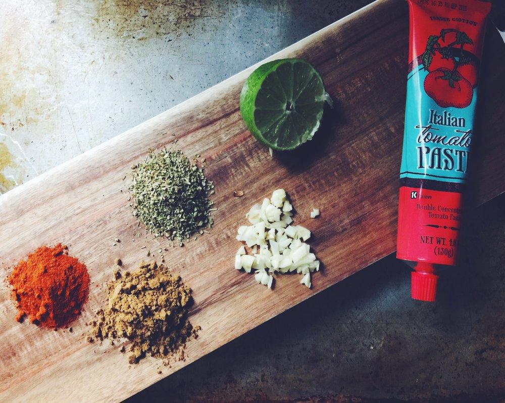 vegan enchilada sauce ingredients