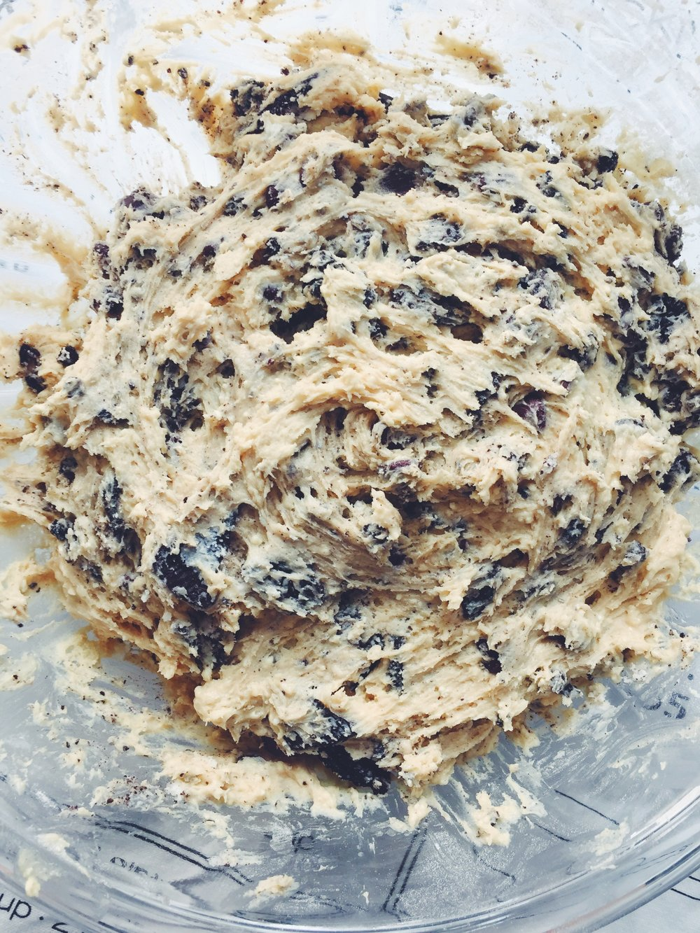 cookies and cream chocolate cookie dough