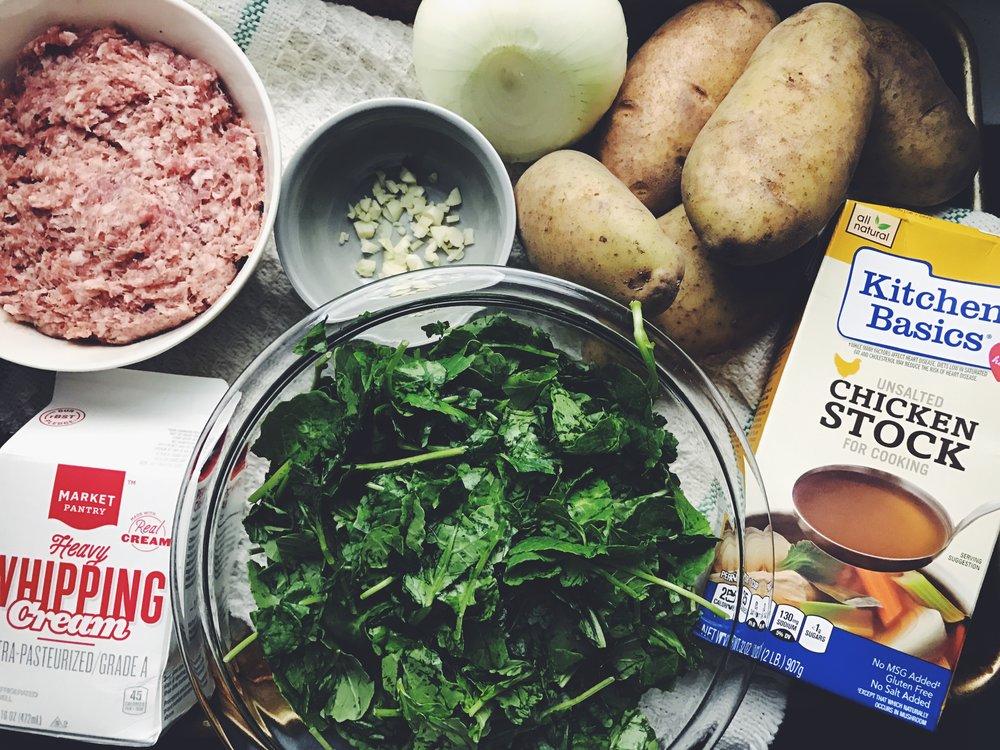 zuppa toscana ingredients