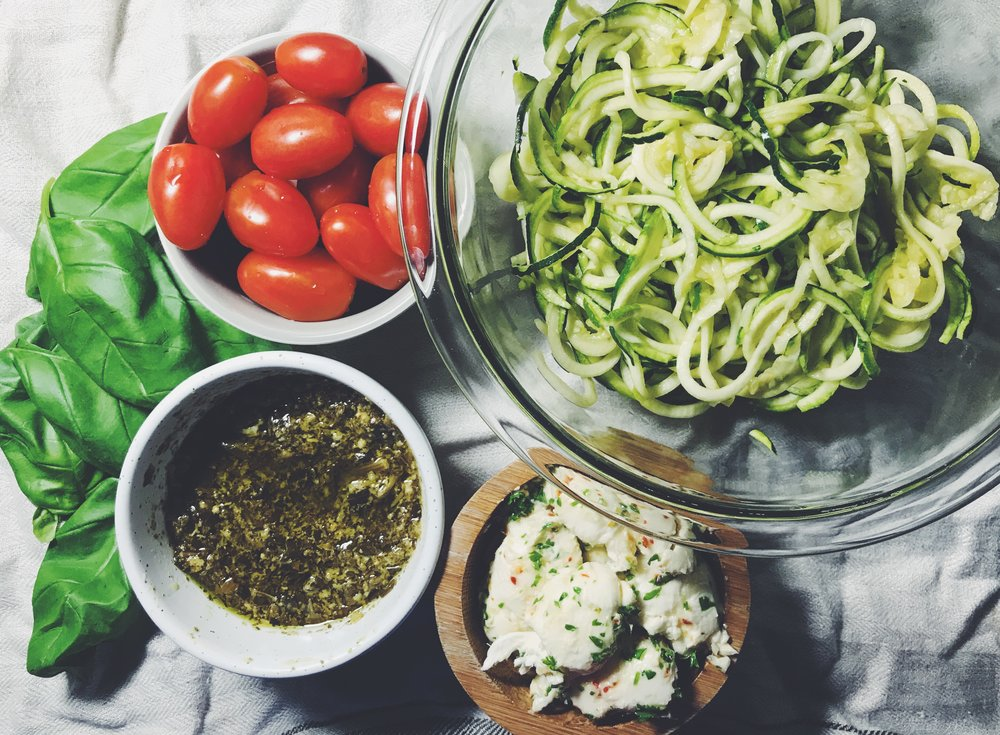 zucchini noodle ingredients