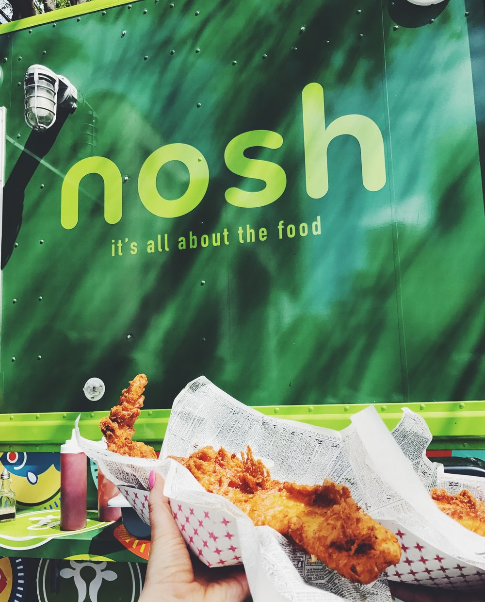 nosh food truck fish & chips