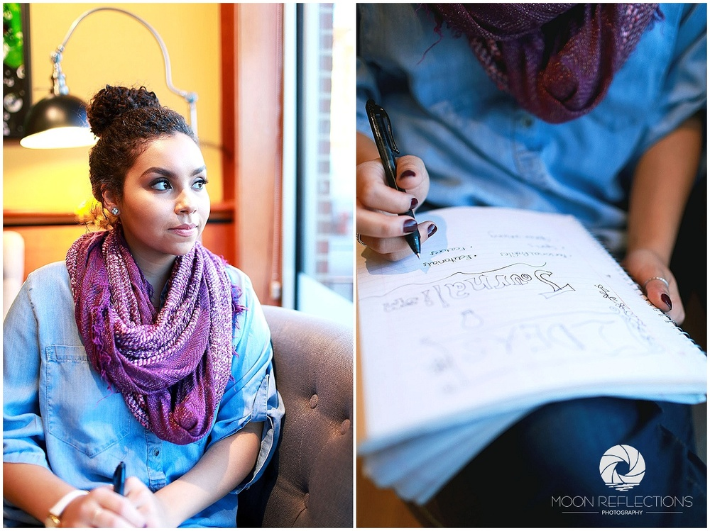 High School Senior │Royal Oak H.S. │Bean & Leaf Cafe  │Metro Detroit Senior Photographer
