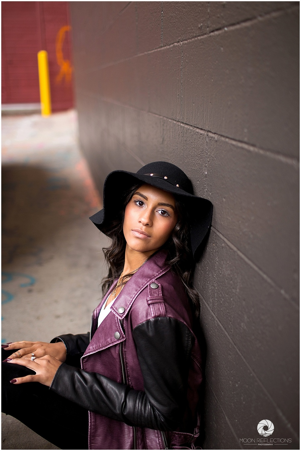 Ann Arbor Michigan │ Graffti Alley │ Plymouth High School Senior │ Moon Reflections Photography
