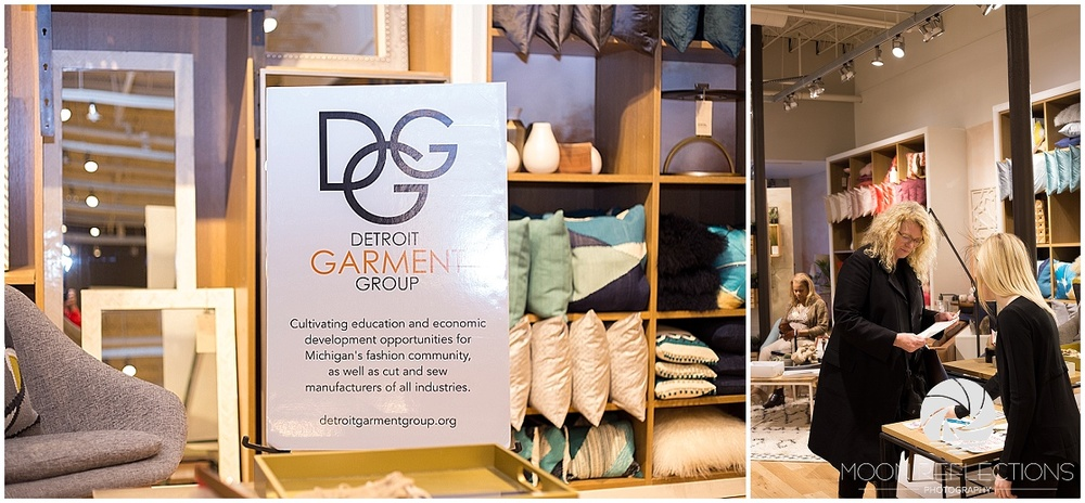 Detroit Garment Group at West Elm and Pink Pump Event