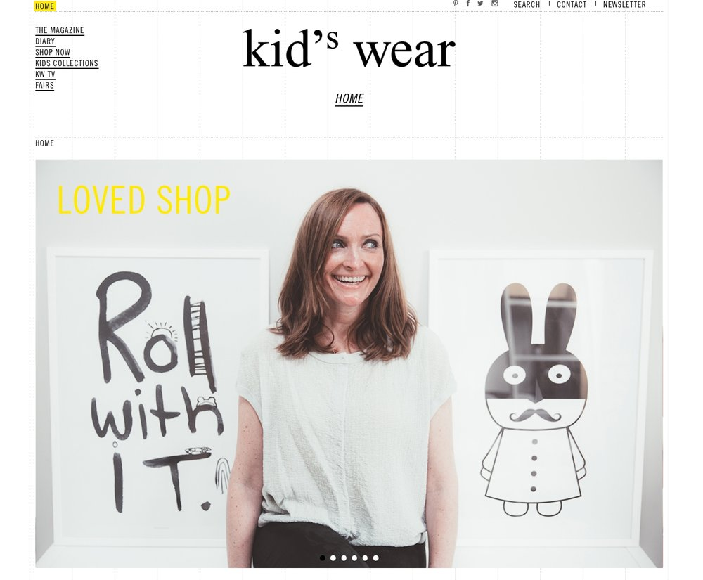 Kidswear Magazine Scandi Mini