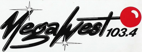 Autocollant Megawest (1987)