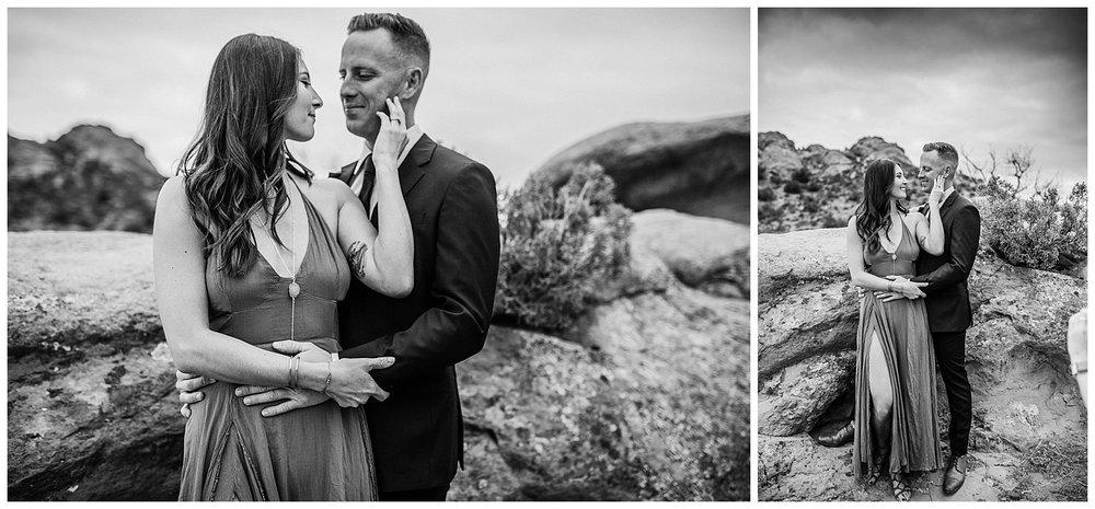 Couples Shoot Vasquez Rocks