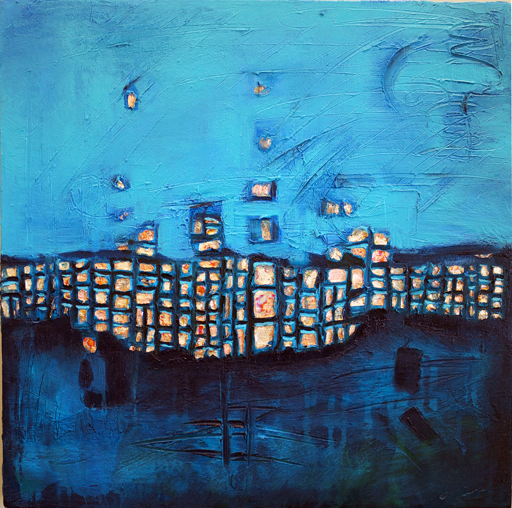 First Blue Grid (SOLD)