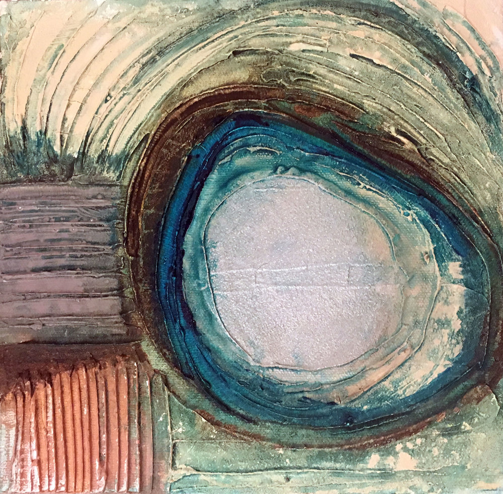 Concentric #2 6x 6 (SOLD)