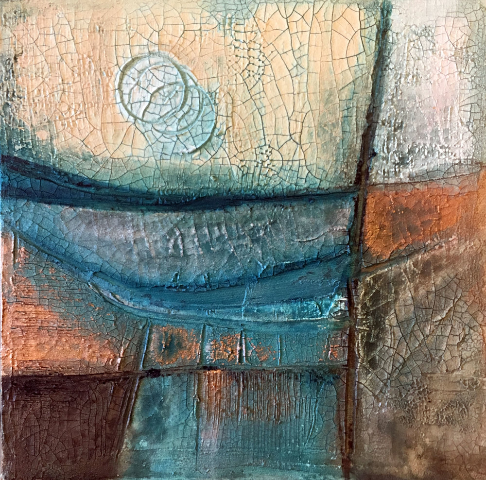 SOLD Moonlight #1 10 x 10