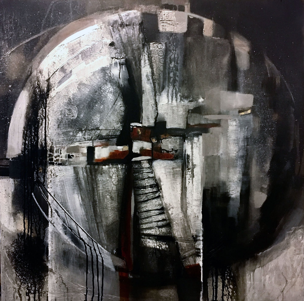 "(SOLD) Relic 36"" x 36"""