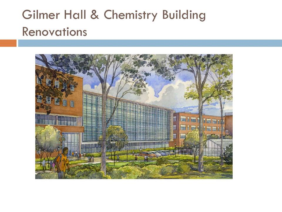The next big upcoming project for Design Electric - UVA's Gilmer and Chemistry Building Renovations.