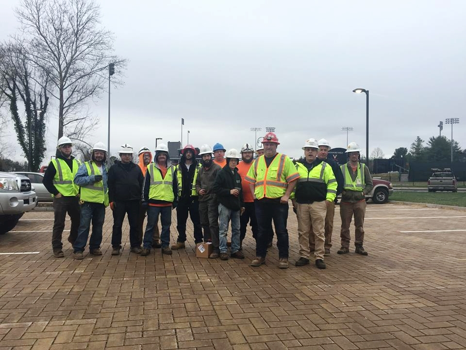 Congratulations to our February safety award winners from the UVA Davenport Field project! -