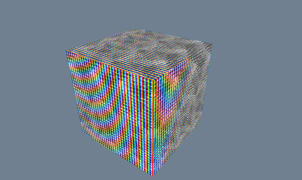 Had a spot of trouble when trying to pass texture information to DirectX