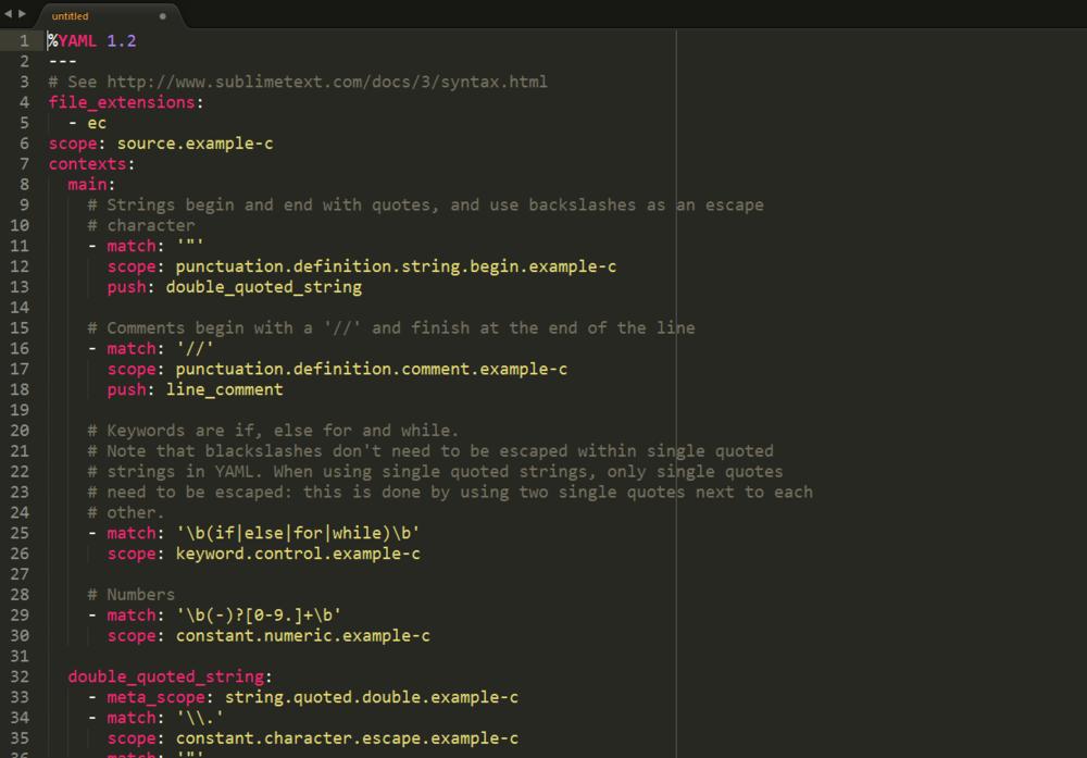 Sublime Text Syntax Tutorial Sil Tutorials