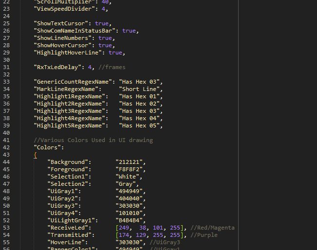 This one is just Sublime Text but it's an example of the GlobalConfig.json file