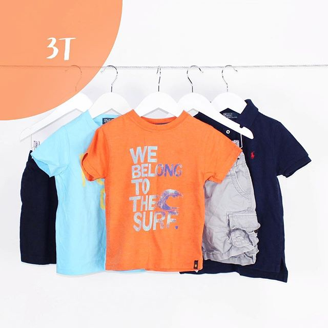 Boy 3T | 5 Pieces | $34.99 #sporty #athletic #athlete #boy #toughboy #graphictee #shortsleeves #fun #babygap #luckybrand #ralphlauren #cargos #shoploteda #bythelot #buythelot #mommies #consignment