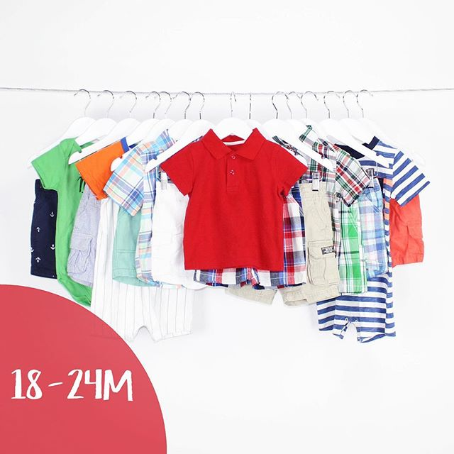 Baby Boy 18-24 Months | 11 pieces | $29.99 #carters #gerberbaby #gymboree #fun #summer #boys #love #polos #shortsleeves #shop #shopmycloset #shopLoteda #bythelot #buythelot #mommies #consignment