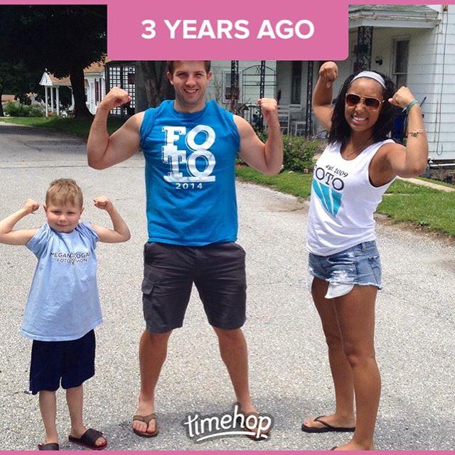 A last minute #TBT to a visit with a throwback visit with the Knapers!