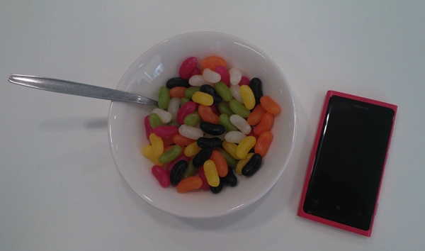 jelly bean nokia