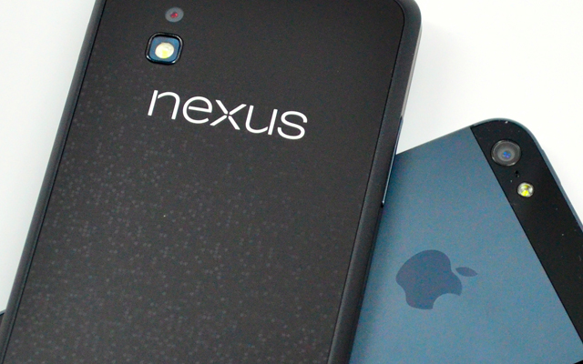 nexus iphone
