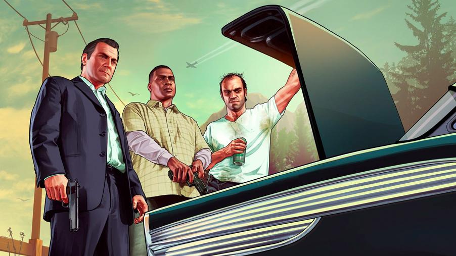 GTA 5 trailer 2013