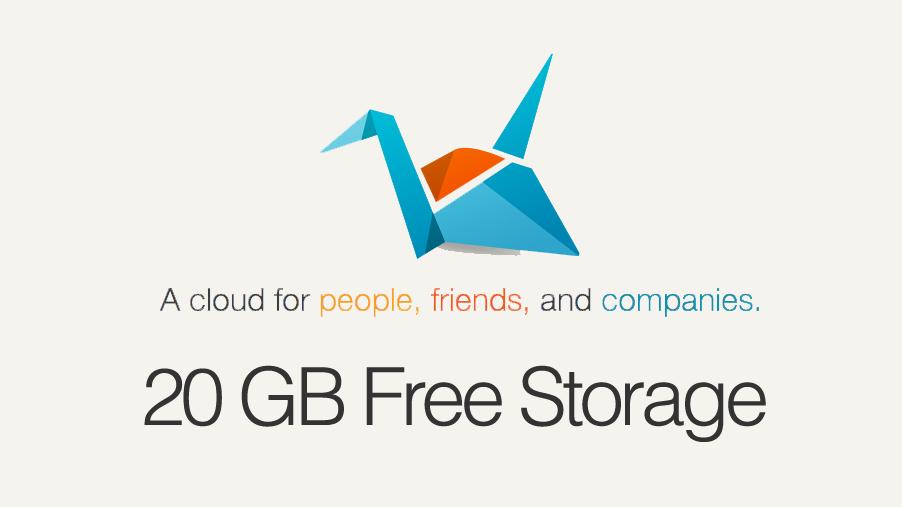 20 gb free storage