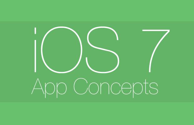 ios 7 app concepts