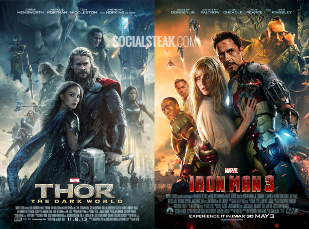 thor dark world iron man 3