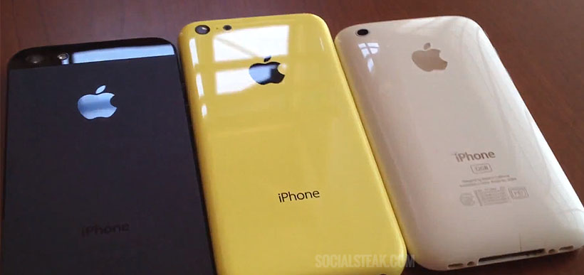 iPHONE 5C YELLOW