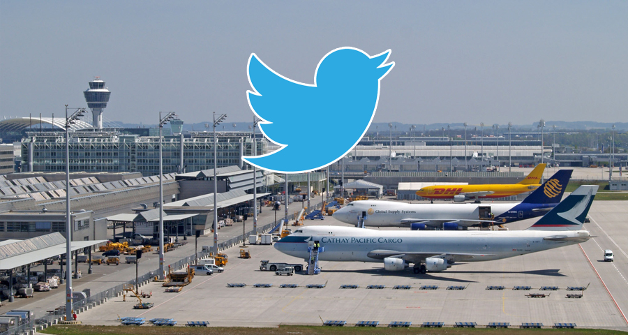 twitter airport