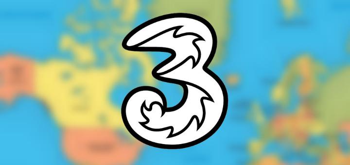 three abroad