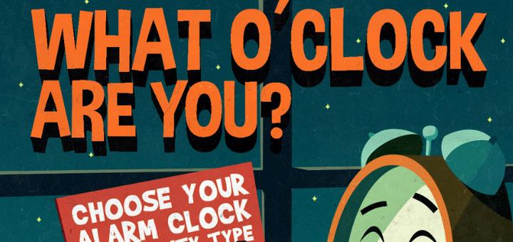 o clock infographic