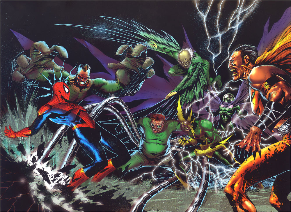 One of the Sinister Six lineups.