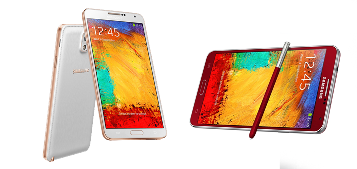 galaxy note 3 red gold