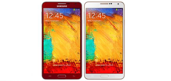 note 3 red rose gold
