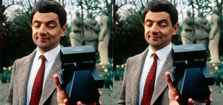 MR BEAN SELFIE