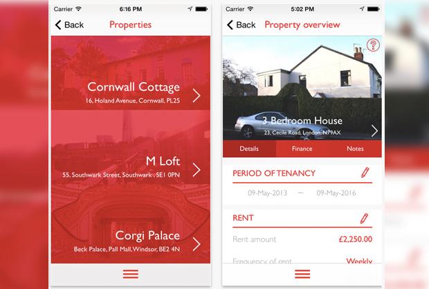 direct line landlord app