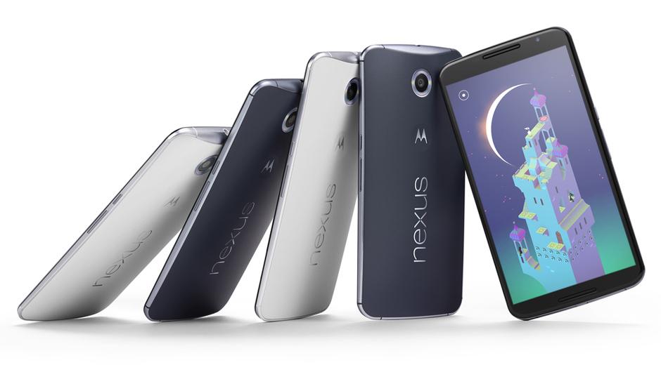 This is Google's Nexus 6 running Android Lollipop