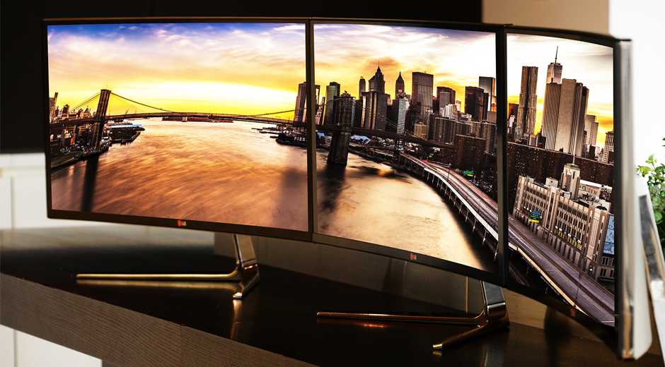 LG's 34-inch Ultrawide QHD Monitor