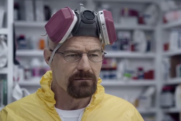 walter white reprises role