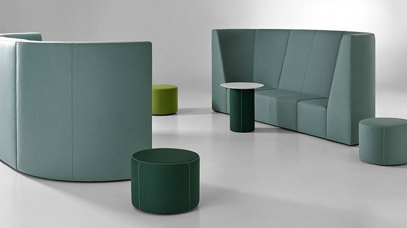 Jerry Helling , president and creative director of  Bernhardt Design , has established a long career of cultivating design talent and producing quality furnishings in the United States. He worked closely with  Airbnb  co-founder Joe Gebbia on the Neighborhood collection, which consists of 38 separate modular pieces.