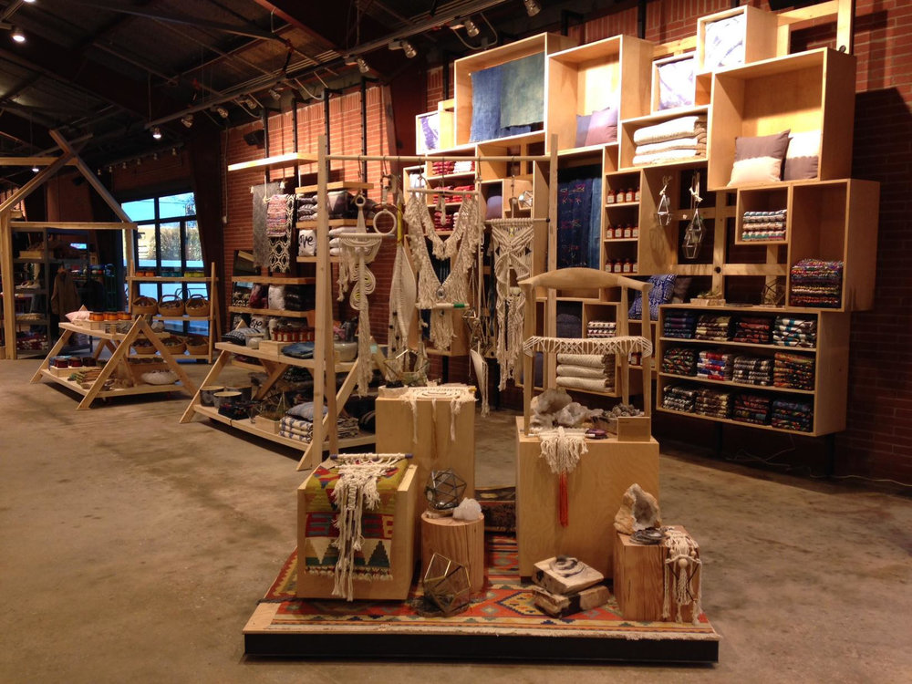 Adaptive reuse fits the Urban Outfitters brand; Tallahassee store created with NewStudio Architecture