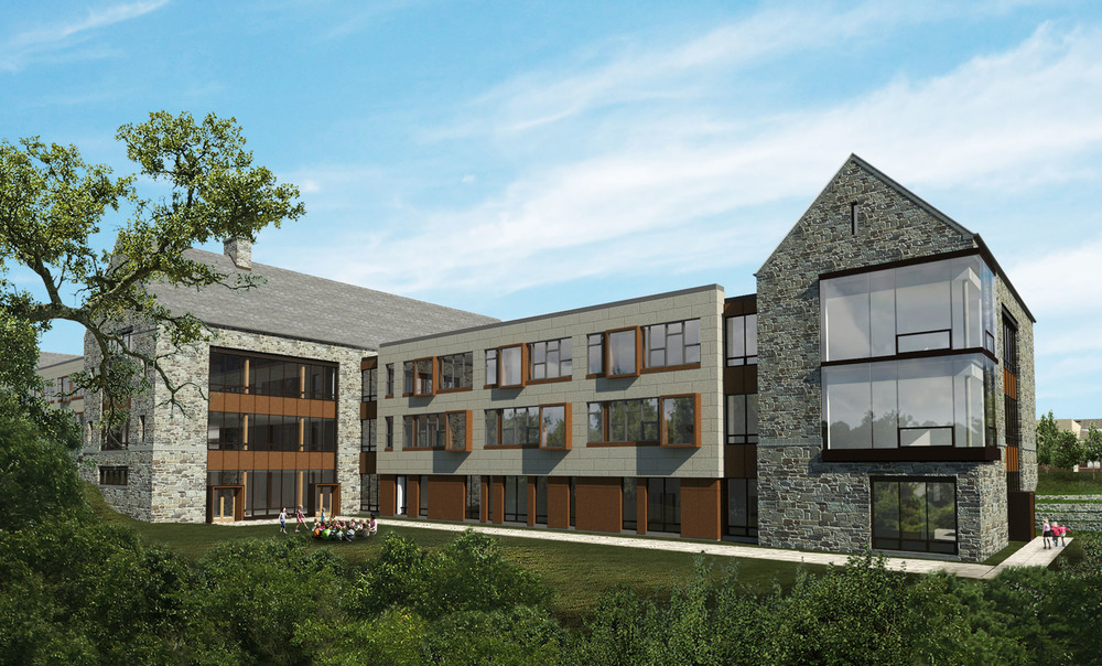 SCH Academy Lower School design image for master plan by NewStudio Architecture