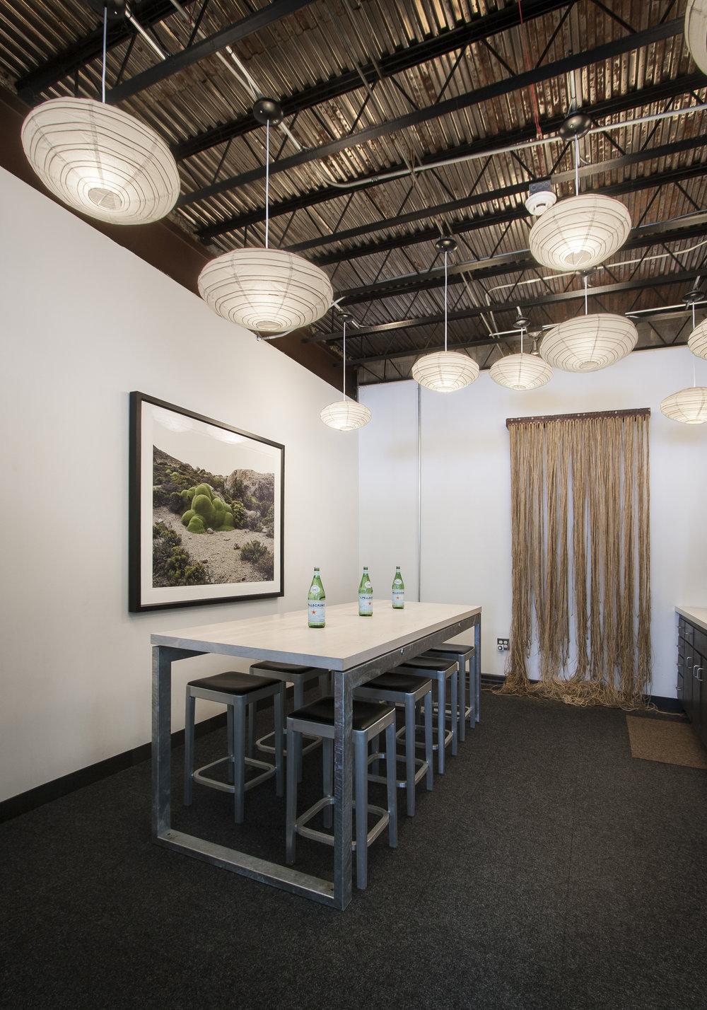 Kitchen area of NewStudio Architecture's original office