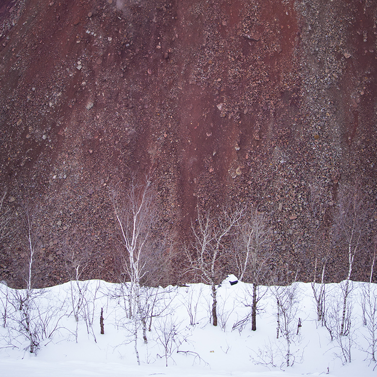 """Adam Jarvi - """"These Landscapes Don't Exist"""" features photographic images of the Iron Range's fleeting industrial terrains.Lower Level Central.Instagram"""