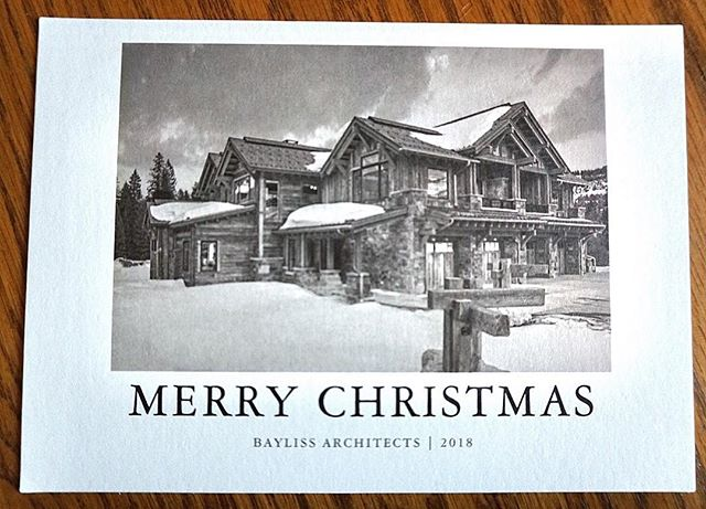 Merry Christmas from all of us at Bayliss Architects. 🎄We wish you health and happiness this holiday season. We will see you Wednesday the 26th!
