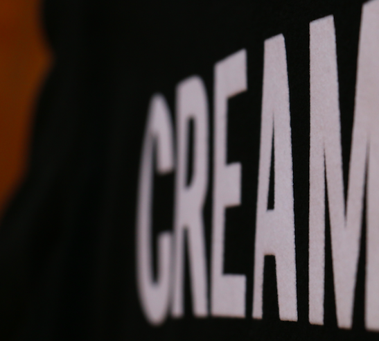 Long T-shirt: CREAM