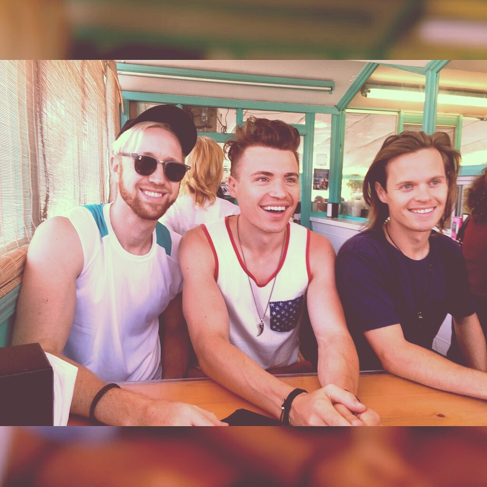 Jon Asher, Shawn Hook and David Hudson in Santa Barbara, CA 7/4/15